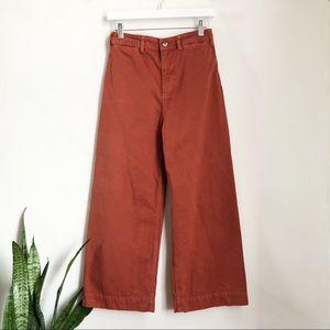 We the Free Patti Crop Cotton Pants